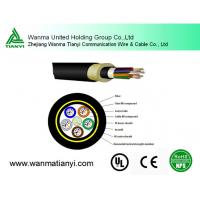 single mode ADSS fiber optic cable for overhead Manufactures