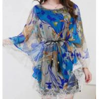 Fashion Ladys Chiffon Shirts and higt quality ladies skirt Manufactures