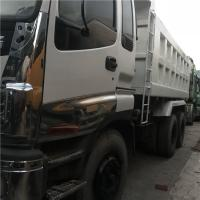japan Used 336HP ISUZU 10 Wheels Dump Truck Tipper 6X4 with Good Condition for Africa Manufactures