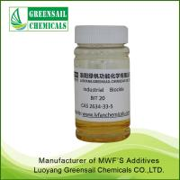 China BIT 20% 1,2-Benzisothiazolin-3-one Industrial biocide manufacturer for sale
