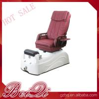 Quality modern relaxing electric chair pedicure chair ceramic pedicure sink with jets for sale