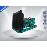 50Hz 3 Phase 470KW / 588KVA Open Diesel Generator ,Water-cooled With IP23 Meccalte Alternator Diesel Generator Manufactures