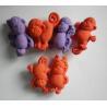 3D animal pencil cap eraser Manufactures