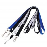 Quality Split Ring Nylon Lanyard Flash Drive 128MB - 512MB Capacity For Gift for sale