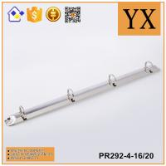 China manufacturer bright nickel plate metal multi ring binder mechanism Manufactures