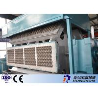 Large Capacity Apple Tray Making Machine / Egg Tray Making Machine Long Service Life Manufactures