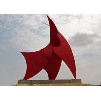 Racing Sails Painted Metal Sculpture Stainless Steel Corrosion Stability Manufactures