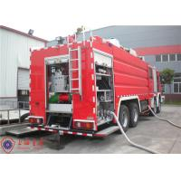 Mercedes Chassis Light Fire Truck 6 Seats Pump Flow 140L/S With Electrical System Manufactures