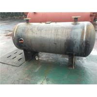 Horizontal Stainless Steel Air Receiver Tanks For Machinery Manufacturing / Textile Industry Manufactures