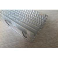 Quality 6063 High Power Silver Aluminum Extruded Heat Sink ROHS Standard for sale