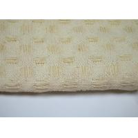 Purity Cotton Honeycomb Pattern Jacquard Fabric Varying Drape - Ability Manufactures