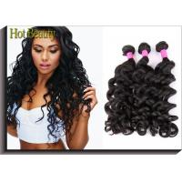 Grade 6A Unprocessed Human Hair Weave Big Curl Brazilian Grade Black Fashion Style Manufactures