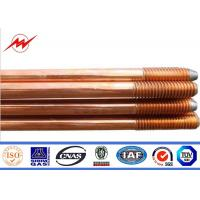 Pure Earth Earth Bar Copper Grounding Rod Flat Pointed 0.254mm Thickness Manufactures
