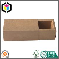 Drawer Style Kraft Packaging Box; Small Size Cosmetics Corrugated Box Manufactures