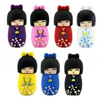 Usb Flash Drive Memory Stick Cartoon Japanese doll Model 64gb USB 2.0 Disk Manufactures