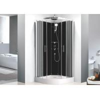 Sector Free Standing Shower Stall 0.36 Volume , 900mm x 900mm Quadrant Shower Enclosure Manufactures