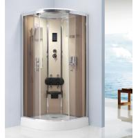 Quality Computer Controlling Free Standing Shower Stall , Tempered Glass Shower for sale