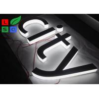 Mirror Polished LED Channel Letter Signs Epistar LED Chip Customized Design Manufactures