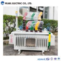 100 Kva And 10 Kv Oil Immersed Distribution Transformer Energy Saving Manufactures