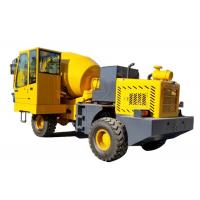 Diesel Industrial Self Loading Concrete Mixer Heavy Duty 2900L Drum Capacity Manufactures