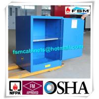Flammable Corrosive Storage Cabinets , Paint Storage Lockers For Laboratory Manufactures