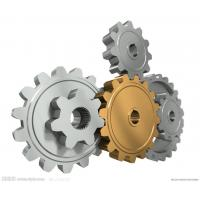 Metal Precision Carbon Steel Gears / CNC Custom Machining For Bearing Parts Manufactures