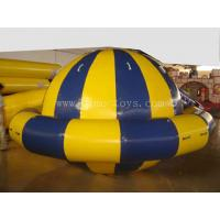Customized Inflatable Water Toys Spinning Top For Seasides / Swimming Pool / Lake Manufactures