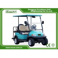 Front / Rear 4 Seats Electric Golf Carts , Battery Powered Electric Caddy Carts Manufactures