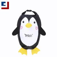 Fashion cute penguin printing lightweight waterproof backpack for kids Manufactures