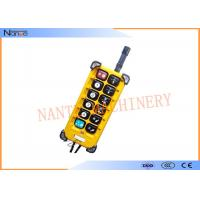 IP 65 Wireless Hoist Remote Control Wireless Crane Control F23 A++ Manufactures