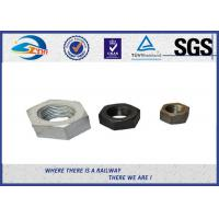High Strength Railway Fastenser Hex Railway Nuts Cold bending 90 degree Manufactures