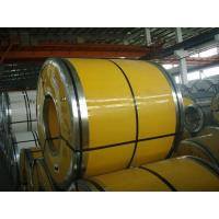 Quality 316L / 304 / 430 Cold Rolled Coil Steel ±2mm Width Tolerance With Zinc Coating for sale