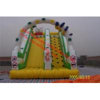 children inflatable pool with slide jumping castles inflatable water slide Manufactures