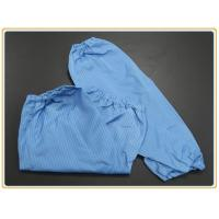 Cleanroom Protection Oversleeve 65% polyester + 32% cotton + 3% conductive wire Manufactures