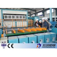 Automatic Rotary Pulp Molding Apple Tray Making Machine / Paper Pulp Molding Machine Manufactures