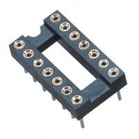 2.54mm IC Socket DIP  Round Pin Header H=3.0,L=7.43 Row of Pitch 7.62 Manufactures