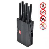 6 Antenna High Power Portable Cell Phone Signal Jammer Blocking GSM 3G 4G LTE WIMAX GPS Manufactures