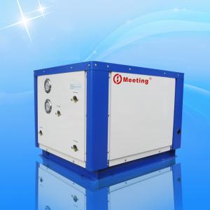 China Heating Floor Groundwater Heat Pump , Outdoor Water To Water Geothermal Heat Pump on sale
