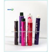 Cosmetict Packaging Tubes Empty Aluminum Tubes for Hair Dying Cream tube Body care tube with Goden Internal Coating Manufactures