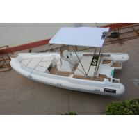 6m 20ft Hypalon Rigid Hull Inflatable Rib Boats With Teak Floor RIB600 Manufactures