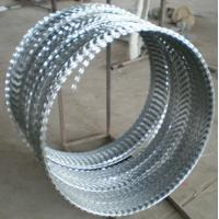 hot galvanized concertina wire  razor barbed wire Manufactures