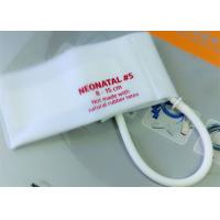Neonatal 3 Pediatric Blood Pressure Cuff Disposable , NIBP CUFF for Hospital Manufactures