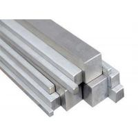 China 12mm - 35mm Square Stainless Steel Bar For Shaft / Lathe 2m - 6.5m Length on sale