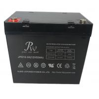 12V 55Ah High Rate Discharge Battery , Electric Vehicle SLA Rechargeable Battery Manufactures