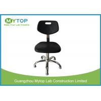 Anti Static Foaming Surface Lab Chairs With Back Support , ESD Safe Lab Chairs Manufactures