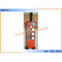 Radio Hoist Push Button Switch Crane Remote Control 6 Buttons Within 100m Manufactures
