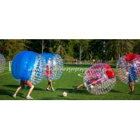 Customized Durable Inflatable Bubble Ball Football For Outdoor Sports Manufactures