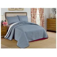 Custom Grey Printed Bed Spread Sets , Home Adult Luxury Bedspreads Manufactures