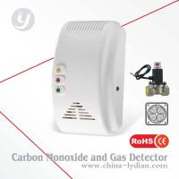Combustible Gas Carbon Monoxide And Gas Detector Flash Alarm Manufactures
