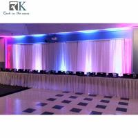 aluminum 6063-T3 pipe wedding party decorations tent Drapery design voilage pipe and drape wedding decorations indian we Manufactures